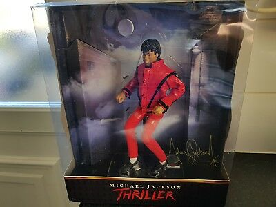 Michael Jackson Thriller Signed Action Figure Boxed