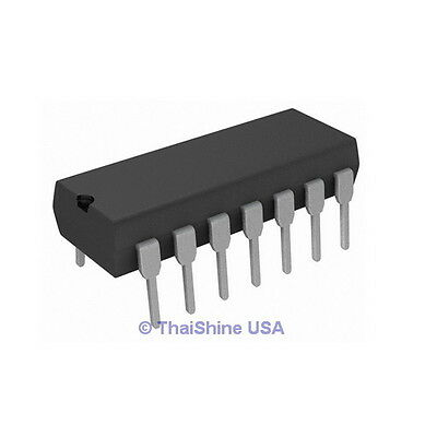 5 x 74HCT08 7408 IC Quad 2 Input Positive AND Gate - USA SELLER - Free Shipping