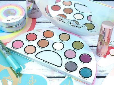 Best TOO Faced Life's a FESTIVAL Peace, Love and Unicorns Eyeshadow Palette NEW