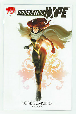 Generation Hope #2 9.2 Women Of Marvel Variant White Pgs 2010