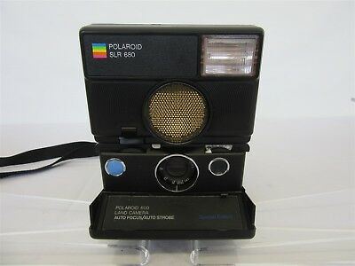 Polaroid SLR 680 SE auto focus land camera: UNTESTED, FOR PARTS OR NOT WORKING