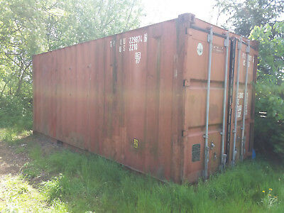 Seecontainer, Lagercontainer, Baucontainer 20 Fuß