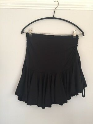Ice Skating Skirt In Black