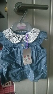 Boots mini club girls blouse 6-9 months