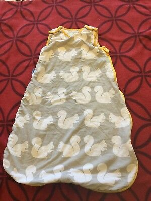 Kissing Squirrels Anorak Grobag / baby sleeping bag 2.5  tog 0-6 months