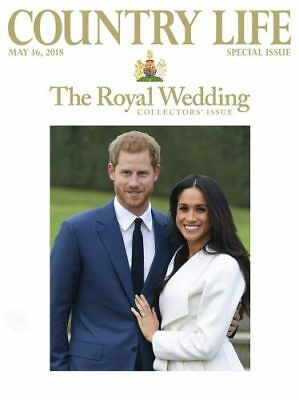 COUNTRY LIFE Magazine MAY 2018 ROYAL WEDDING COLLECTORS SPECIAL ISSUE *New*