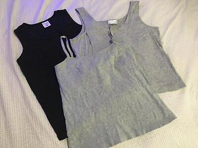 Lot Of 2 Nursing Tanks 1 Nursing Cami & 4 Nursing Undershirts