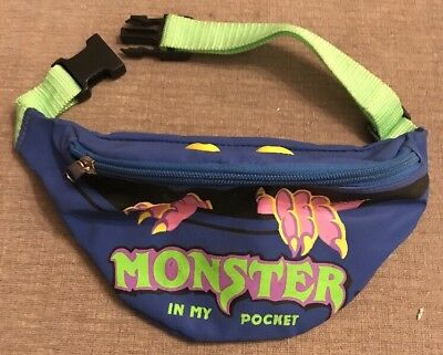 Vintage Matchbox 1980s Monsters In My Pocket Bum Bag