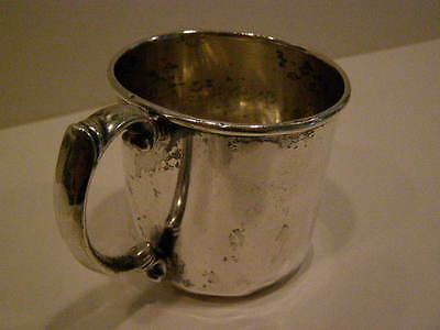Vintage Sterling Silver Baby Cup From 1942