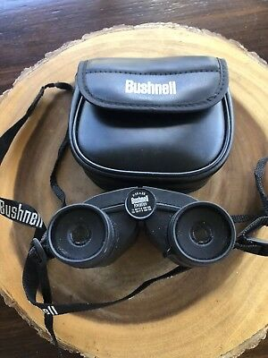 Bushnell Powerview 7-15 X 25 Compact Zoom Binoculars with Carrying Case