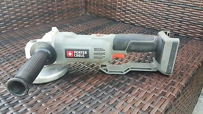 USED PORTER-CABLE 18V 18 Volt PC1800AG Angle Grinder Cut-off Tool (Tool Only)