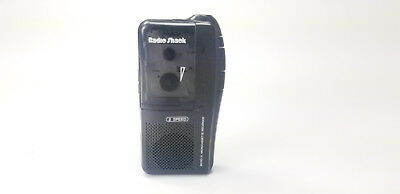 Radio Shack Micro-21 14-1159 2 Speed Microcassette Recorder Player Tested 100%
