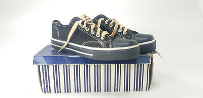 VTG Sears Jeepers Sneakers Made In Usa Size 9 1950s 60s Black Converse NOS NWT