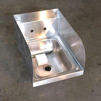 Space Saving Hand Sink with Splash Guards
