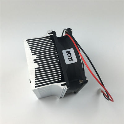 20-100W LED Aluminium Heat Sink Cooling Fan