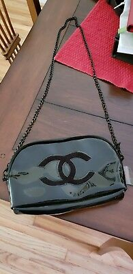 🔥💯Chanel Beauty Black Cosmetic Makeup Bags  Crossbody VIP Gift 🔥