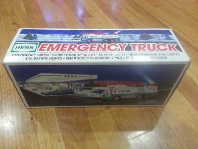 Hess Gasoline Truck Emergency Ladder Fire Truck Toy 1996 NEW IN BOX FREE SHIPPIN