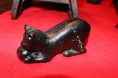Kitty Cat Bank   Cat   1980's   Hobart Penny Bank  Cat Bank