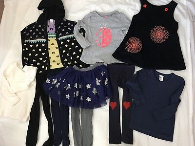 Girls Assorted Winter Items Size 3