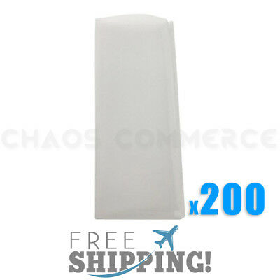 "45 Micron Rosin Press Filter Bags Rosin Screen Bag Filter - 2"" x 4.5"" - 200 Pack"