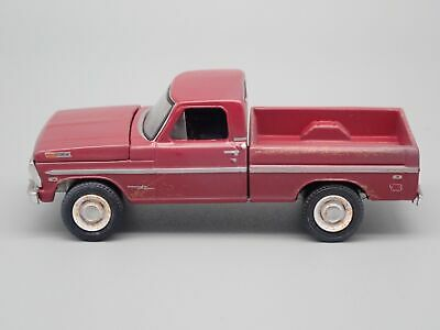 1969 FORD F100 Short Bed Pickup Truck Rare 1 64 Collectible Diecast