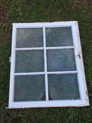 Vintage Sash Antique Wood Window Picture Frame Pinterest Wedding 6 Pane