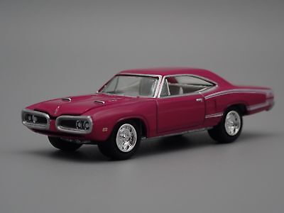 1970 Dodge Super Bee Rare 1/64 Limited Collectible Diorama Diecast Model Car
