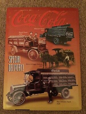 Coca Cola Special Delivery Poster Picture