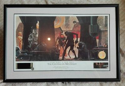 Star Wars Lithograph: A New Hope, The Cantina on Mos Eisley