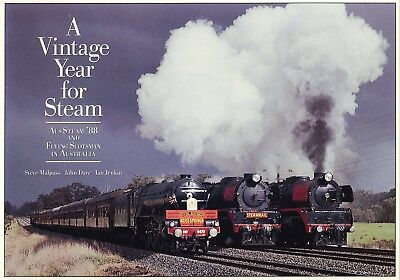 A Vintage Year for Steam - AusSteam '88 and Flying Scotsman in Australia