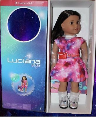 American Girl Luciana™ Doll & Book NEW IN BOX 100%