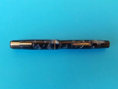 Vintage Todd and Co Blackbird lever fill fountain pen  14 crt Gold nib