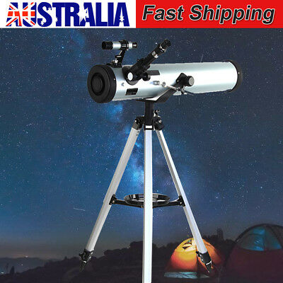 Astronomical Telescope Aperture 114mm 675x Zoom HD High Resolution w/ Tripod