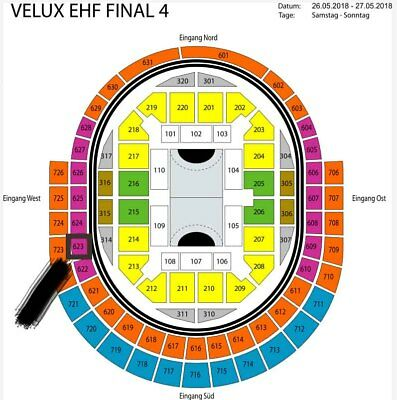 VELUX EHF Final 4 2018, Cologne / Köln Lanxess Arena