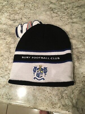 New Bury FC Woolly / Beanie Hat The Shakers