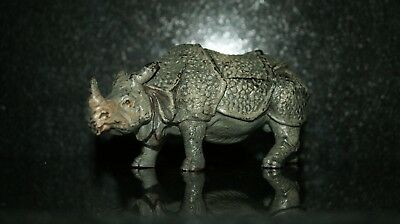 Bronze Cold Painted Rhino