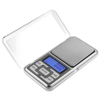 MINI 200g 0.01 DIGITAL POCKET SCALES JEWELLERY PRECISION ELECTRONIC LAB WEIGHT