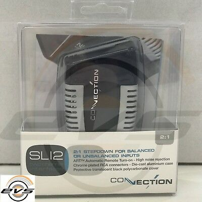 Connection SLI 2 Interfaccia Adattatore Booster Pre Out RCA 2 Canali by Audison