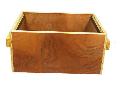 Bee Beautiful Langstroth bee hive brood box assembled no frames