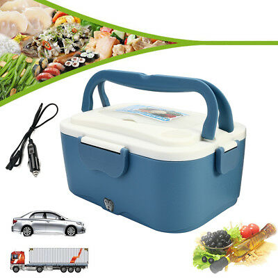 AU 12/24V Electric Lunch Box Bag Car Truck Lunchbox Outdoor Travel Meal Heater