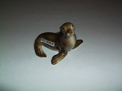 Vintage Kelvin's Japan Bone China Sea World Seal Figure So Cute