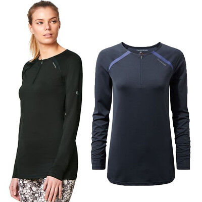 Craghoppers Womens/Ladies NosiLife Coast Long Sleeve Strech Jersey Top