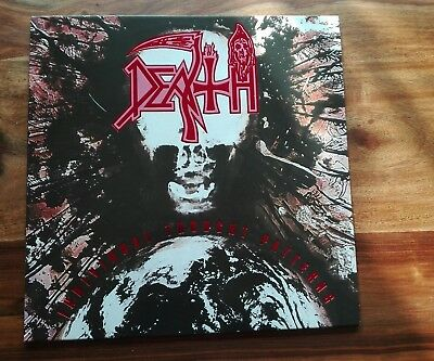 DEATH - Individual Thought Patterns Splatter Vinyl. Milky/Clear  Super Zustand
