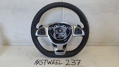 Mercedes C Class W205 Amg Liner Multifunction Steering Wheel Paddle Shift