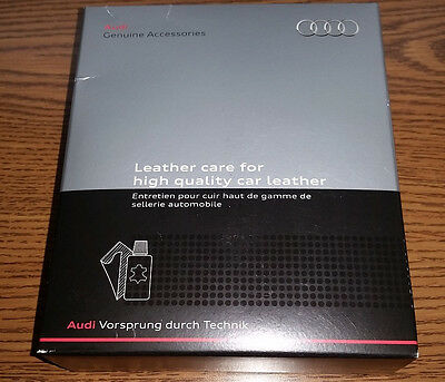 Audi Factory Leather Care Kit - Works on All Audi Models - 4L0096372015