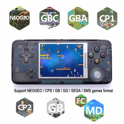 NEW 32GB 64bit Handheld Retro Video Game Console Classic Games Player Coolbaby