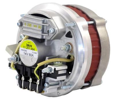 Oem 12V 80A Alternator Fit Volvo Compact Wheel Loader L30B L35B Pro 01182107