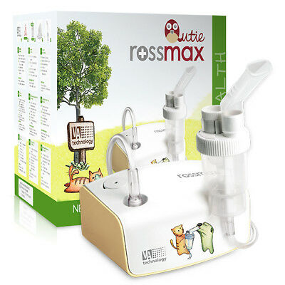 Inhaler Rossmax Piston Nebuliser Compressor Adults Children Pets Dog Cat