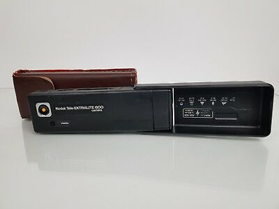 Kodak Tele Ektralite 600 - 1980s,110 Instamatic Film Pocket Camera in Case - VGC