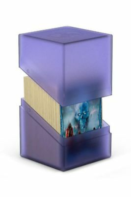 Ultimate Guard - Boulder Deck Case 100+ Amethyst - Gaming Card Box for Archive